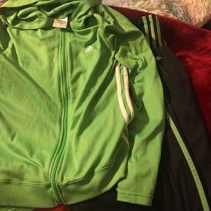 Adidas Joggers and jacket